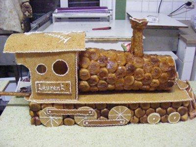 piece montee train